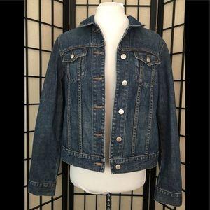 J. Crew Denim Jacket Size M